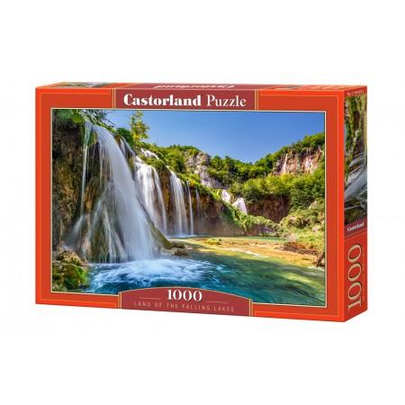 Puzzle 1000 el. Land of Falling Lakes - Kraina wodospadów