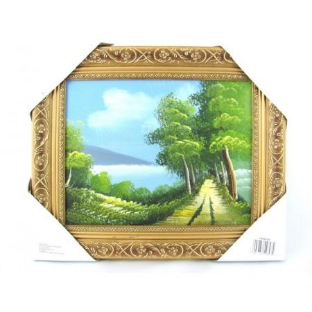 Obraz olejny pejzaż mały