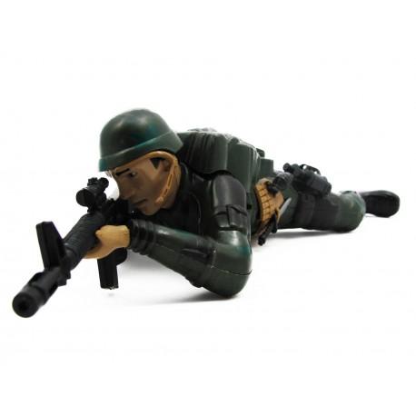 Żołnierz czołgający dźwięk
