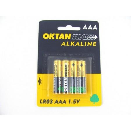 Bateria OKTAN R3 AAA 4 szt komplet