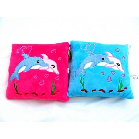 Poduszka delfinki 2 kolory