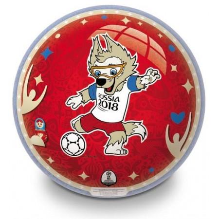 Piłka  licencyjna gumowa Mondo 23cm