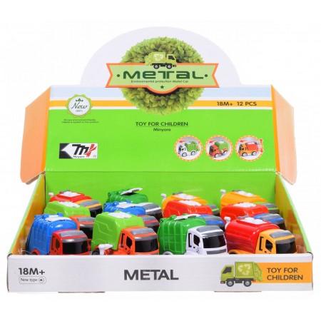 Śmieciarka metalowa