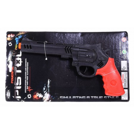 Pistolet terkotka czarny iskra