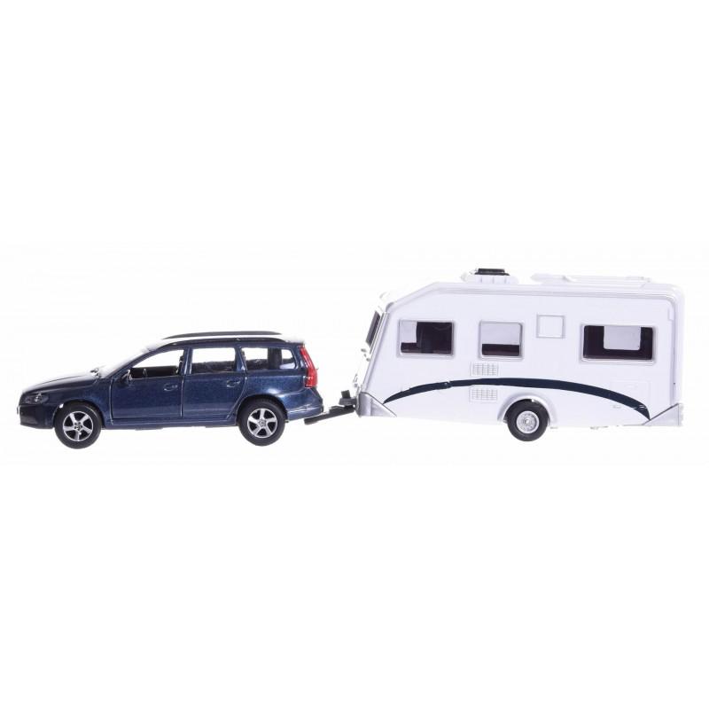 Volvo V70 z campingiem