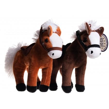 Koń stojący z głosem duży