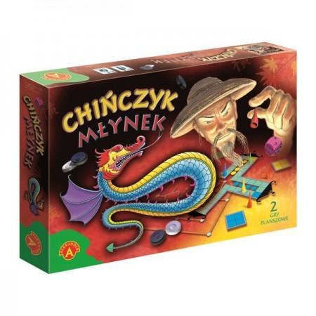 Chińczyk - młynek gra planszowa