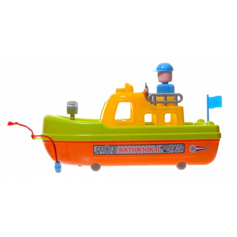 Łódki patrolowe 3 rodzaje ze sznurkiem