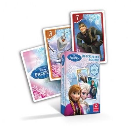 Karty piotruś - Frozen - Kraina lodu