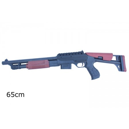 Imitacja broni - karabin na kulki laser światło