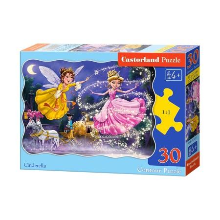 Puzzle 30 el. Cinderella - Kopciuszek
