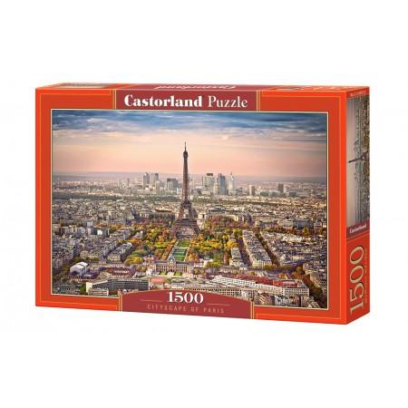 Puzzle 1500 el. Cityscapes of Paris - Panorama Paryża