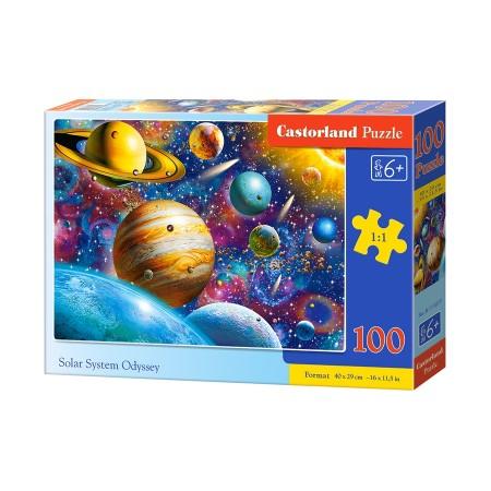 Puzzle 100 el. Solar System Odyssey - Układ słoneczny