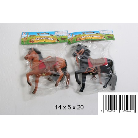 Koń dla lalki flokowany