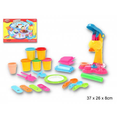 Masa plastyczna lodziarnia