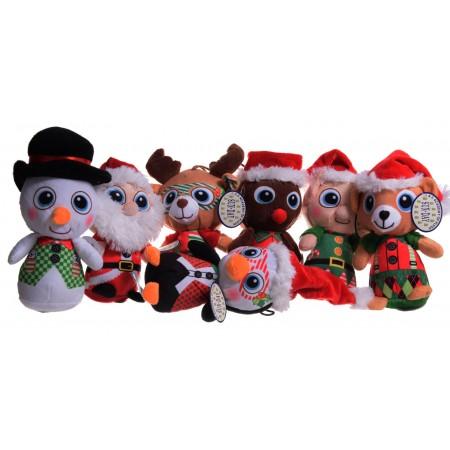 Zwierzęta świąteczne 7 wzorów