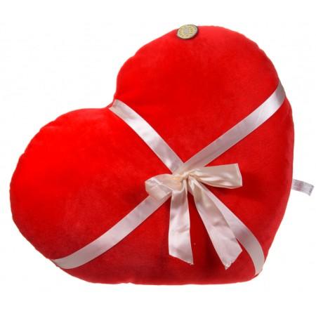 Duże serce z kokardą