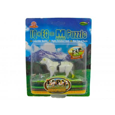 Owca 3D puzzle