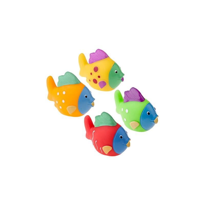 Zestaw zabawek do kąpieli 4 szt