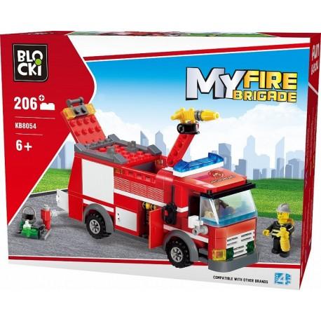 Klocki blocki MyFire 206 el auto strażackie