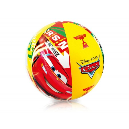 Piłka plażowa Auta 61cm 58053