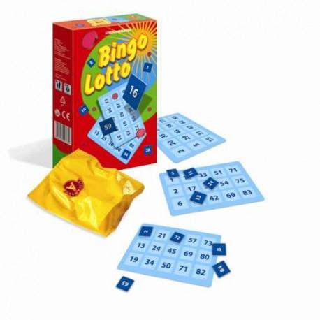 """Gra towarzyska """"Bingo Lotto MINI"""""""