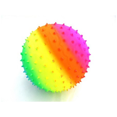 Piłka tęczowa z kolcami