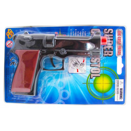 Pistolet metalowy na spłonkę