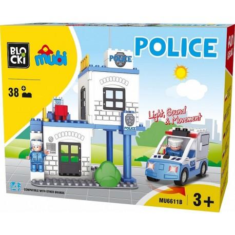 Klocki Mubi policja 38el.