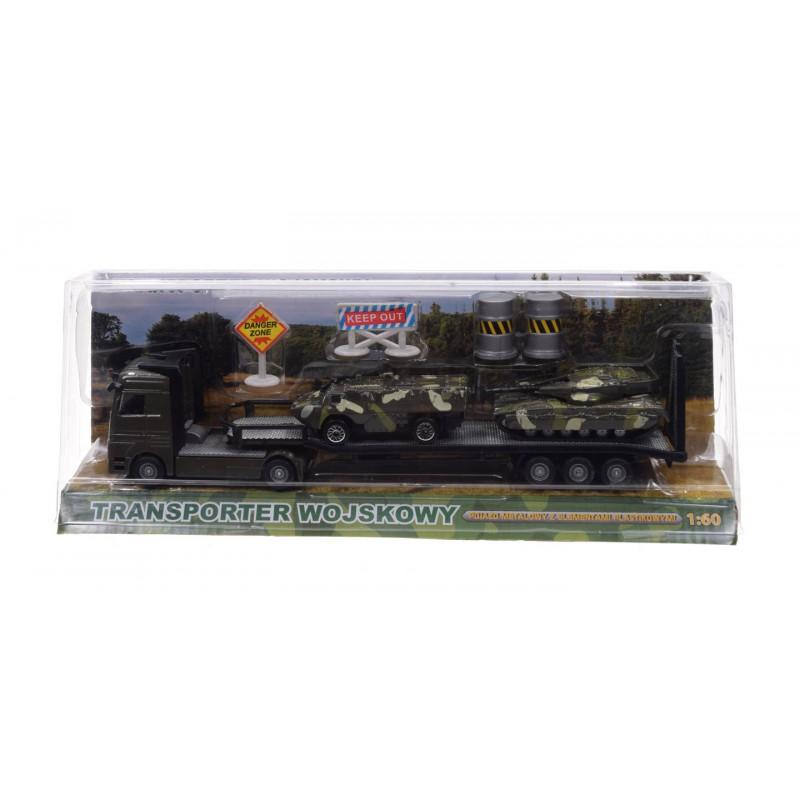 Transport wojskowy laweta