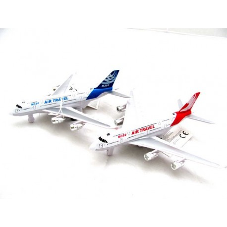 Samolot światło dźwięk metal - plastik