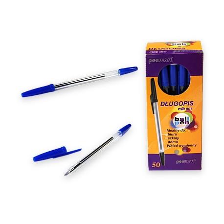 Długopis niebieski