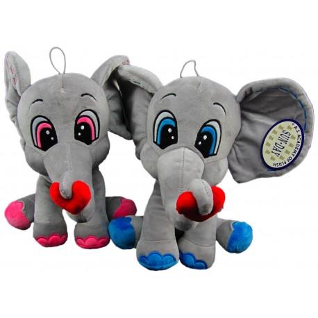Słoń z sercem mały