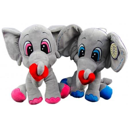 Słoń z sercem duży