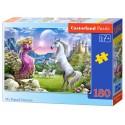 Puzzle 180 el. My Friend Unicorn - Mój przyjaciel jednorożec
