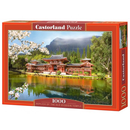 Puzzle 1000 el. Replica of the Old Byodoin Temple