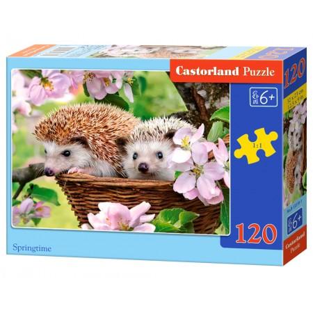 Puzzle 120 el. Spring Time - Wiosenny czas