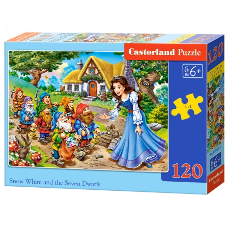 Puzzle 120 el. Snow White and the Seven Dwarfs