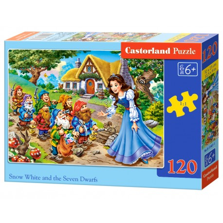 Puzzle 120 el. Snow White and the Seven Dwarfs