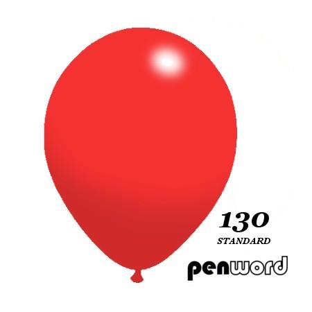 """Balon standard 10"""" czerwony 100szt."""