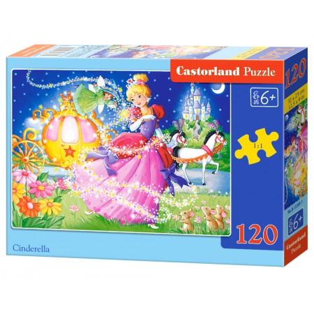 Puzzle 120 el. Cinderella - Kopciuszek