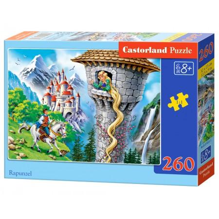 Puzzle 260 el. Rapunzel - Roszpunka