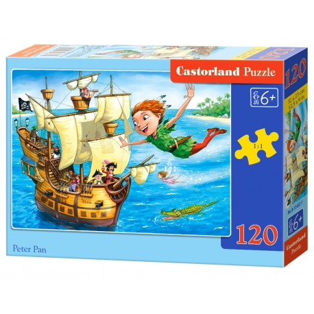 Puzzle 120 el. Peter Pan - Piotruś Pan
