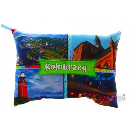 Poduszka ze zdjęciami Kołobrzegu