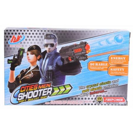 Pistolet 2w1 na kulki żelowe