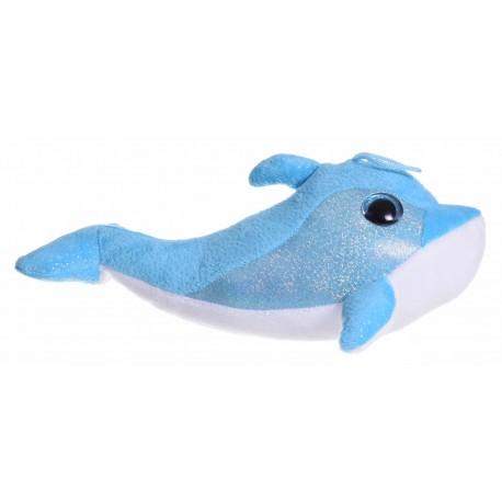 Delfinek pluszowy hologram mały