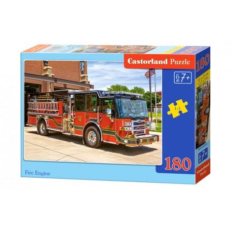 Puzzle 180 el. Fire Engine - Wóz Straży Pożarnej