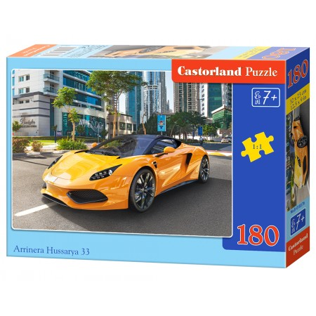 Puzzle 180 el. Arrinera Hussarya 33 - Auto sportowe