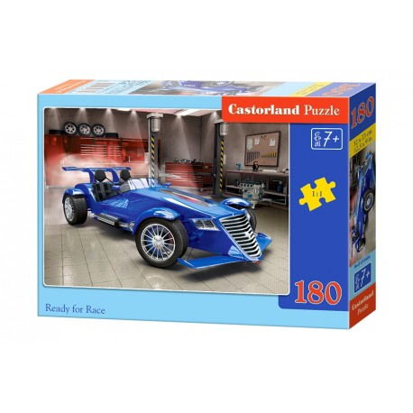 Puzzle 180 el. Ready for Race - Formuła 1