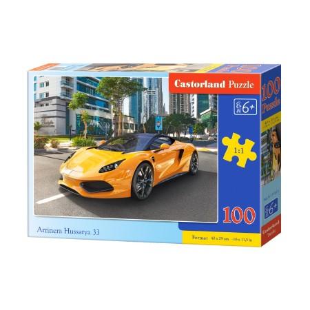Puzzle 100 el. Arrinera Hussarya - Ayto sportowe żółte
